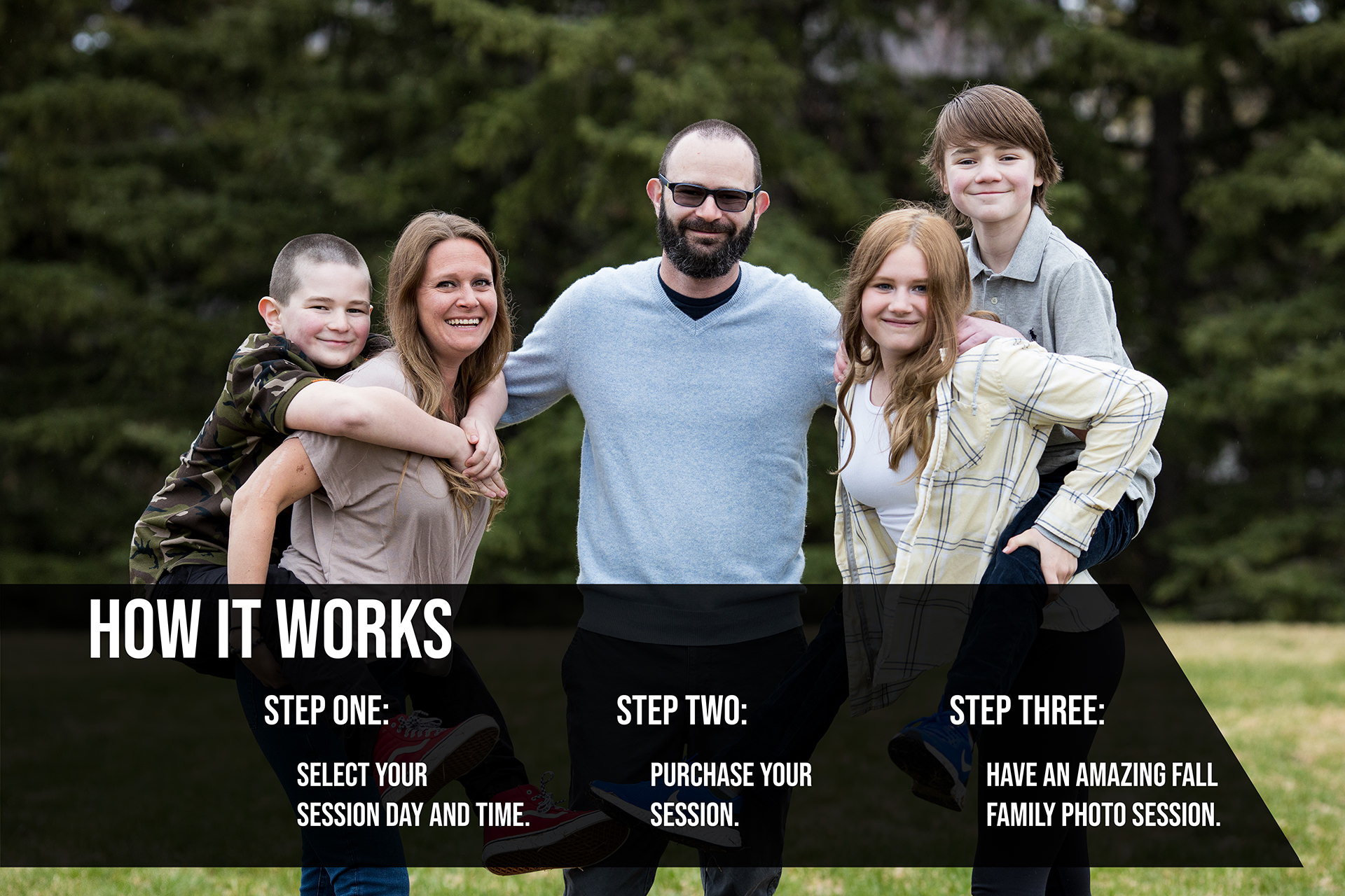 How to book fall family photos